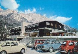 Chiusaforte - Sella Nevea - Albergo Canin - Fiat 500 Simca 1301 Renault 4 FG NV - Udine