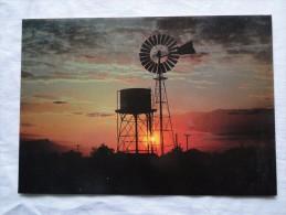 Australia Outback Sunset   A100 - Outback