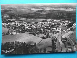 17 : TONNAY-BOUTONNE :  VUE AERIENNE D'ENSEMBLE ,  C.P.A., Carte En Très Bon état , - Autres Communes