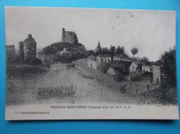 17 : TONNAY-BOUTONNE :  D'APRES Une GRAVURE De 1815 ,  C.P.A., Carte En Très Bon état , - Other Municipalities