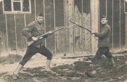 BEVERLOO / AANVAL MET BAJONET - Leopoldsburg (Camp De Beverloo)