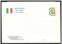 Italia/Italie/Italy: Intero, Stationery, Entier, Bandiera, Drapeau, Flag - Buste