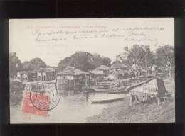 Cambodge Phnom-penh Village Lacustre édit. Dieulefils N° 1615 - Cambodia