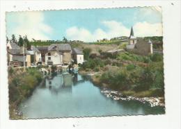 """FOURNELS (48)  SAINT-JUERY (48)  Vue Générale. Eglise """" Hotel Du Bès """" - France"""