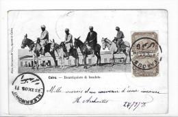 "CPA ""bourriquiers Et Anes - Cairo"