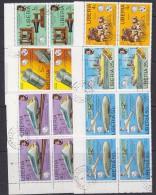 Liberia 1976 1st Telephone 6v Bl Of 4 Used (27693A) - Liberia