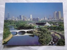 Australia Melbourne Yarra River Showing Melbourne Skyline In Background   A100 - Brisbane