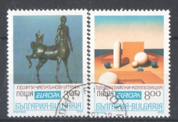 58-224 // BG -1993  EUROPA    Mi 4047/48 O - Bulgaria