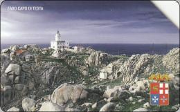 Italy Phonecard  Leuchtturm Lighthouse - Lighthouses