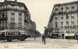PARIS 15è  Place Balard Et Avenue Félix Faure FF FLEURY Autobus GRENELLE Javel Gare SAINT-LAZARE - Arrondissement: 15