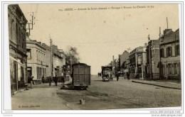 59 ANZIN Avenue De Saint-Amand-  Passage à Niveau Du Chemin De Fer-TRAMWAY Bon Plan - Anzin