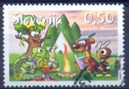 SI 2007-644 EUROPA CEPT, SLOWENIEN, 1w, Used - Europa-CEPT