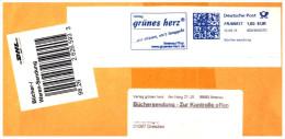 Bund / Germany: Stempel 'Grünes Herz [Thüringen] - 98693 Ilmenau, 2013' / Cancel 'Green Heart [Thuringia]' - BRD
