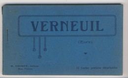 27 - Verneuil        Carnet Complet De 12 Vues - Verneuil-sur-Avre