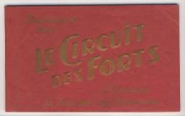 55 - Douaumont              Le Circuit Des Forts             Carnet Complet De 7 Vues - Douaumont