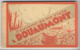 55 - Douaumont             Souvenir De Ma Visite              Carnet Complet De 15 Vues - Douaumont