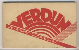 55 - Verdun          Ses Ruines Glorieuses           Carnet Complet De 15 Vues - Verdun