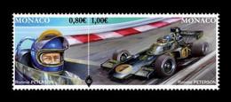 Monaco 2016 Mih. 3283/84 Legendary Formula 1 Drivers. Ronnie Peterson. Car MNH ** - Monaco