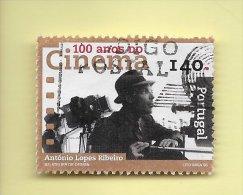 TIMBRES- STAMPS- PORTUGAL -1996- 100 ANS DE CINEMA AU PORTUGAL- DIRECTEUR ANTÓNIO LOPES RIBEIRO -TIMBRE CLÔTURE DE SERIE - Moldavie