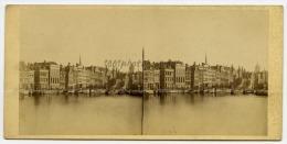 Amsterdam, Vue Stéréoscopique Anonyme, Non Situé. Vues De Hollande, Amsterdam. Rohin N°11. - Photos