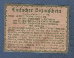 ALTE REKLAME FÜR ZIGARETTEN KOSMOS KHEDIVE EXQUISIT - 1940 - Dokumente