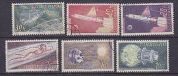 Czechoslovakia 1961 Space 6v Used (27696) - Space