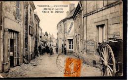 49 Vernoil-le-Fourrier. Route De Parcay - Frankreich