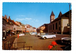 SARREBOURG (57) - Place Du Marché (SIMCA Ranch, PEUGEOT 404, CITROEN 2 Cv) - Sarrebourg