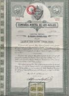 Compania Minera De Los Azules/Une Action Au Porteur /MEXICO/Mexique/1936   ACT100 - Mines