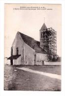 77 Noisy Sur Ecole Eglise Echaffaudage , Carte Rare , Non Voyagée - Francia