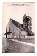 77 Noisy Sur Ecole Eglise Echaffaudage , Carte Rare , Non Voyagée - Other Municipalities