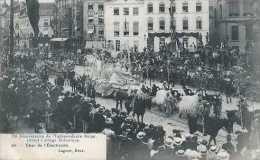 75è Anniversaire De L'indépendance Belge - Grand Cortège Historique - 20 - Char De L'Electricité - Circulé En 1905 - TBE - Fêtes, événements