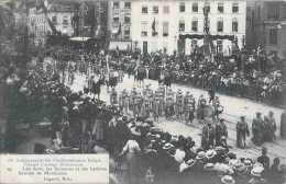 75è Anniversaire De L'indépendance Belge - Grand Cortège Historique - 25 - Les Arts Les Sciences Et Les Lettres - Circul - Fêtes, événements