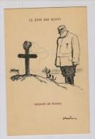 Dessin J.-L. Forain: Le Jour Des Morts [Joffre] - Patrióticos