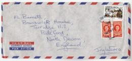1992 Air Mail COSTA RICA COVER Stamps MEDICINE Etc To GB Health - Costa Rica