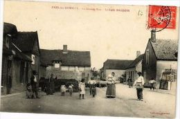 CPA PARS-LES-ROUMILLY - Grande Rue - Le Café BAUDON (21739) - France