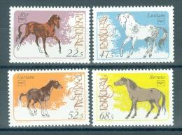 PORTUGAL - Mi 1691/1694 - Paarden/Chevaux/Horses - MNH** - Cote 10,00 € - 1910-... République