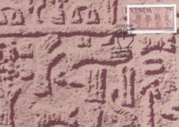 South Africa Venda 1984 History Of Writing, Cretan Hieroglyphics, Maximum Card - Venda