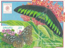 Vanuatu 1998 Singpex Miniature Sheet - Vanuatu (1980-...)