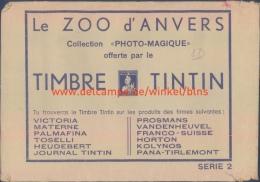 Le Zoo D'Anvers Collection Photo-Magique 3D - Tintin