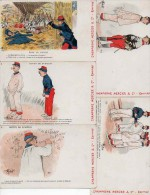Guillaume, 4 6 8 16 34 - Publicité Champagne Mercier & Cie, Epernay - Guillaume