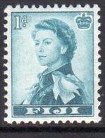 Fiji QEII 1954-9 1d Definitive, MNH - Fiji (...-1970)
