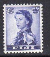 Fiji QEII 1954-9 2½d Definitive, MNH - Fiji (...-1970)