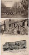 AVIGNON-3 CPA-Lycée De Jeunes Filles (Cour De Récréation) Ancien Couvent Des Cordeliers - Pensionnat (86000) - Avignon