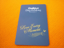 U.S.A. Pigeon Forge Dollywood's Dreammore Resort Hotel Room Key Card (butterfly/papillon) - Grèce
