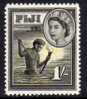 Fiji QEII 1954-9 1/- Definitive, MNH - Fiji (...-1970)