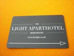 U.K. United Kingdom Manchester The Light Aparthotel Hotel Room Key Card - Grèce