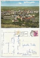 SALERNO (013) - BATTIPAGLIA Panorama Con Castello Pignatelli - FG/Vg 1962 - Salerno