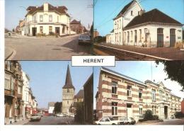 Herent (Leuven-Vlaams Brabant)-Cafe De Oude Tijd--De Kerk-L´Eglise-Station En Omgeving-Gare-Gemeentehuis-Hôtelde Ville - Herent