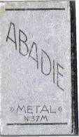 "ABADIE  ""METAL3 Papier Cigarette - Tobacco"